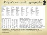knight s tours and cryptography