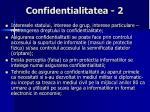 confidentialitatea 2
