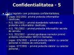 confidentialitatea 5