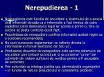 nerepudierea 1