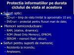 protectia informatiilor pe durata ciclului de viata al acestora2