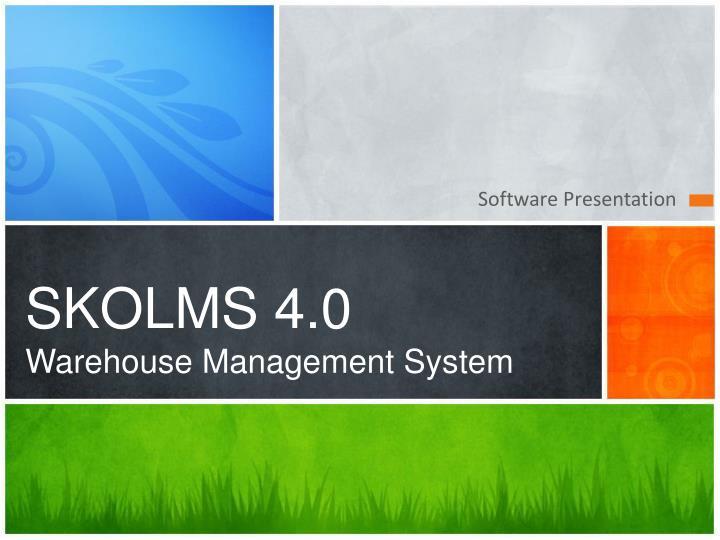 skolms 4 0 warehouse management system n.