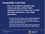 compatible land use