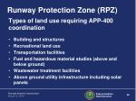 runway protection zone rpz6