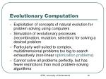 evolutionary computation1