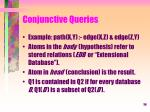 conjunctive queries