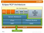 eclipse rcp architecture