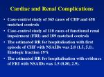 cardiac and renal complications1