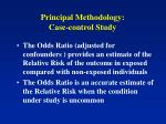 principal methodology case control study1