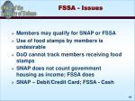 fssa issues
