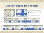 quorum based ps protocol