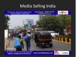 media selling india