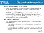 olympiads and competitions