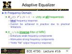 adaptive equalizer2