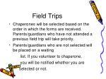 field trips1