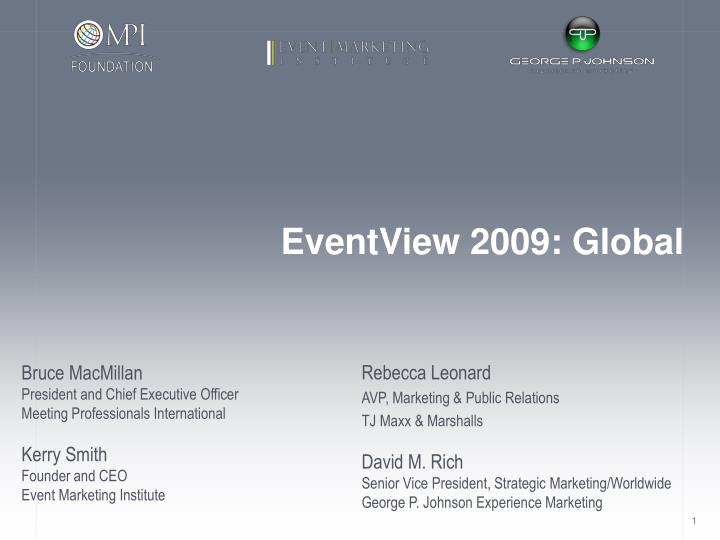 eventview 2009 global n.