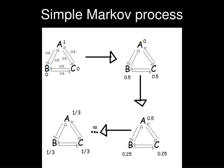 Simple Markov process