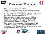 component concepts