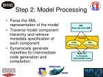 step 2 model processing