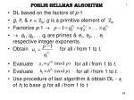 pohlig hellman algorithm