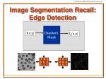 image segmentation recall edge detection