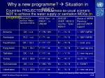 why a new programme situation in rbec