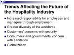 trends affecting the future of the hospitality industry1