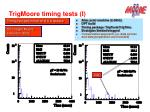 trigmoore timing tests i