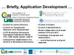briefly application development
