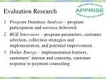 evaluation research1