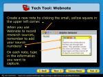tech tool webnote1