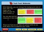 tech tool webnote2