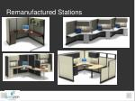 remanufactured stations