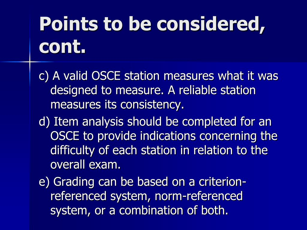 PPT - Objective Structured Clinical examination (OSCE ...