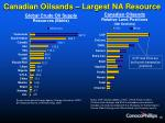 canadian oilsands largest na resource