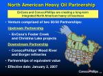 north american heavy oil partnership