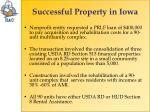 successful property in iowa