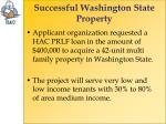 successful washington state property