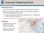 encounter reporting service