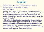legalists