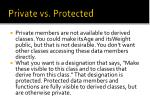 private vs protected