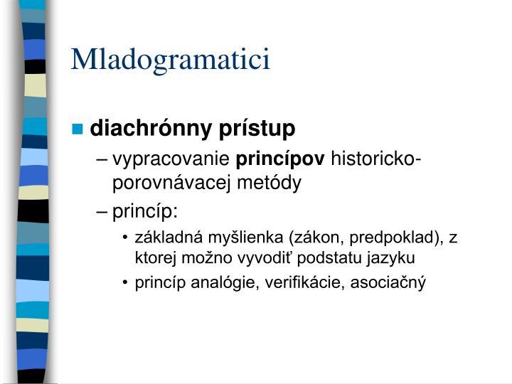 Mladogramatici
