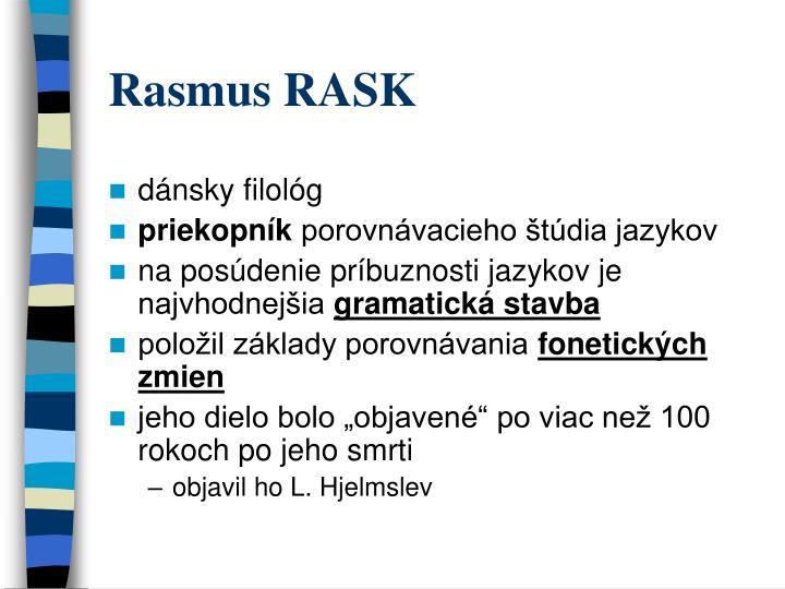 Rasmus RASK