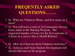 freqently asked questions5