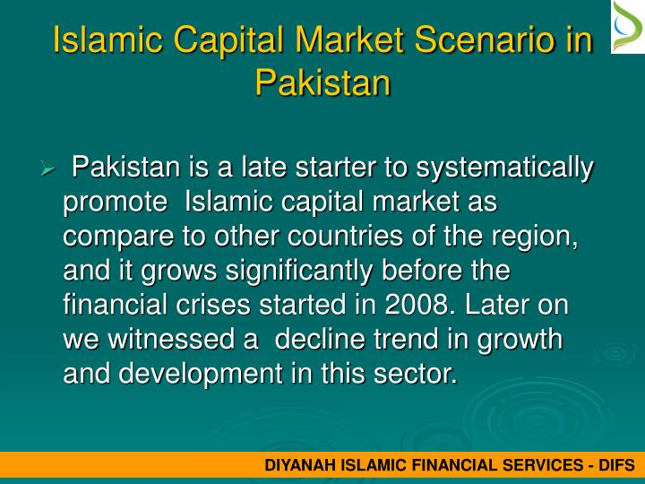 thesis on islamic capital market Religious effects on malaysian capital markets bachelor thesis in economics this section provides an overview of the malaysian bond market and islamic capital.