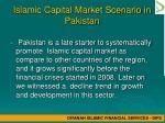 islamic capital market scenario in pakistan