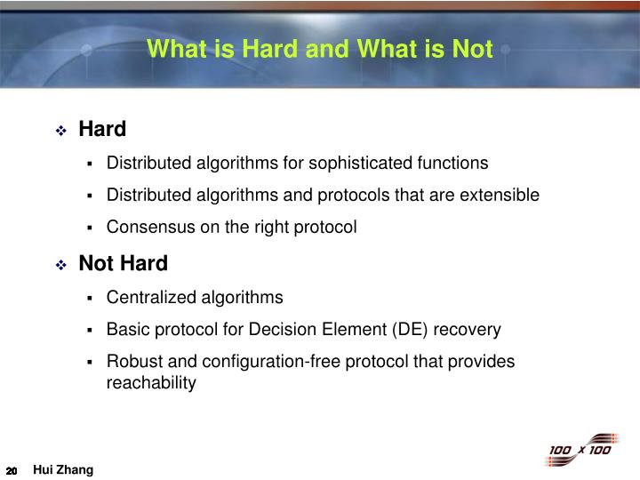 What is Hard and What is Not