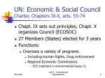 un economic social council charter chapters ix x arts 55 74