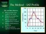 the method iat profile6