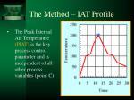 the method iat profile7